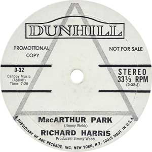 Richard Harris - MacArthur Artwork