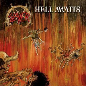 Slayer Hell Awaits Album Cover - 300