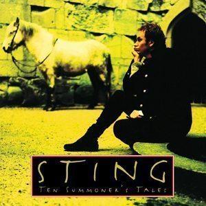 Sting Ten Summoner's Tales Album Cover - 300