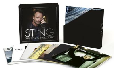 Sting The Studio Collection Vinyl Box Set - 530