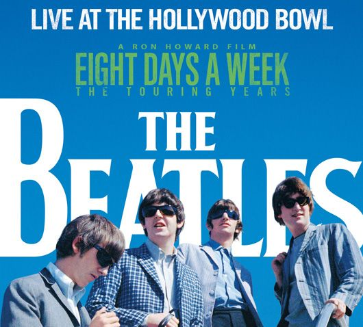 The Beatles Live At The Hollywood Bowl Album Cover