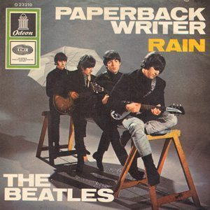 The Beatles Rain Single Cover - 300