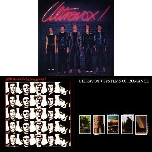 Ultravox, Ha Ha Ha, Systems Of Romance Album Covers - 530
