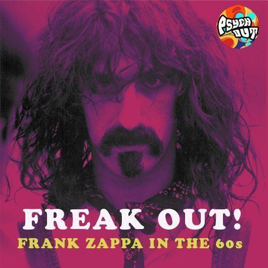 Freak Out - Frank Zappa In The 60s uByte Art with logo