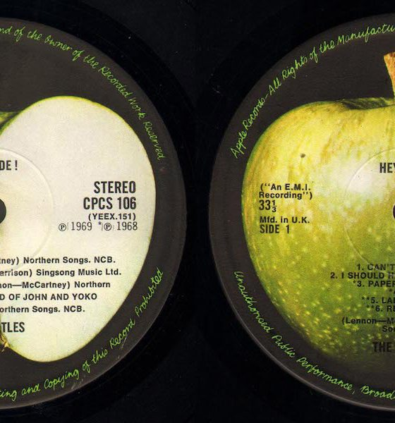 Apple Records First Singles