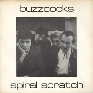 Buzzcocks Spiral Scratch 45 EP front cover - 300