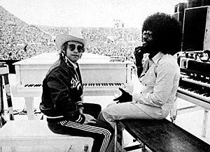 Elton and billy Preston