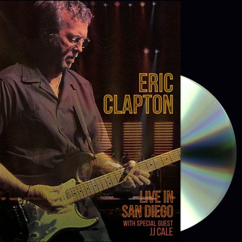 Eric Clapton JJ Cale San Diego DVD Blu-ray