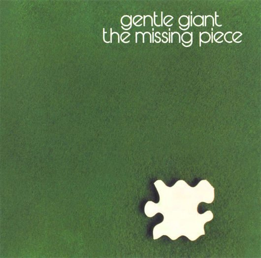 Gentle Giant The Missing Piece Album Cover - 530