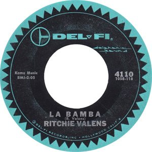 Ritchie Valens - La Bamba Single Label - 300