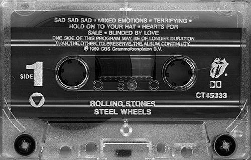 Steel Wheels Cassette