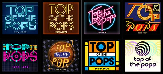 Top Of The Pops Logo Montage - 530