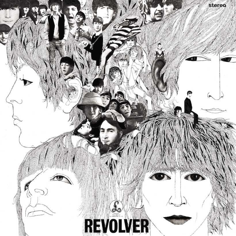 The Beatles Revolver Album Cover