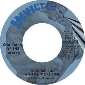 The Charimen Of The Board Single Label