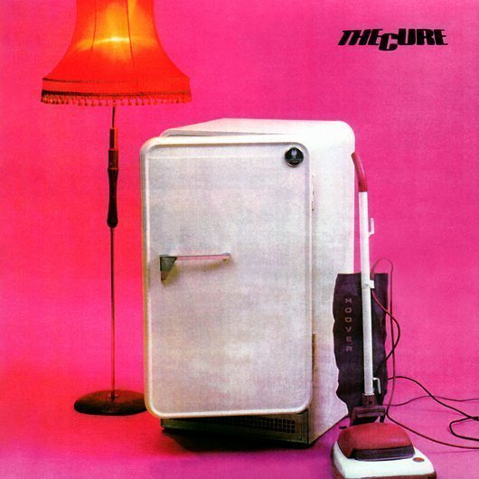 The Cure Three Imaginary Boys Album Cover - 530