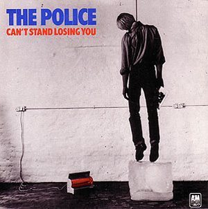 The Police - Can't Stand Losing You Single Sleeve - 300