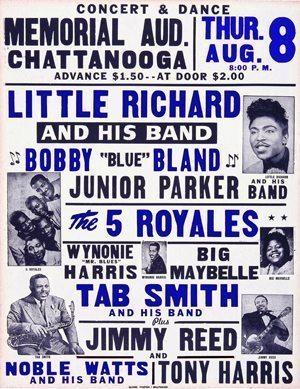 570808 Little Richard-Bobby Bland-Jimmy Reed