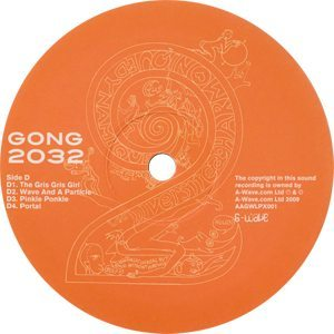 Gong 2032 D-side Label - 300