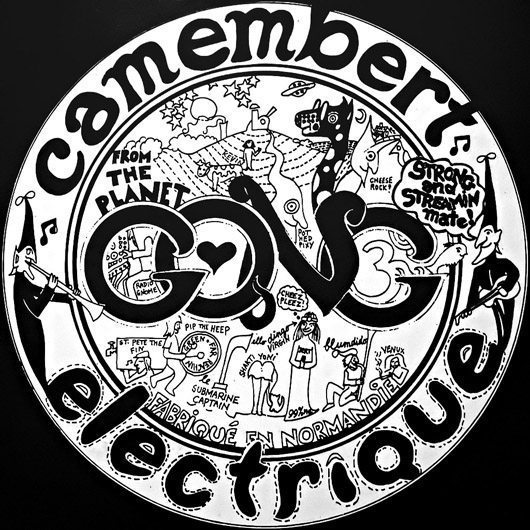 Rediscover Gong's 'Camembert Electrique'