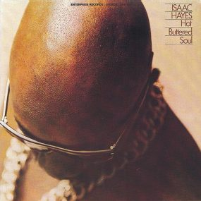 Isaac Hayes Hot Buttered Soul Album Cover