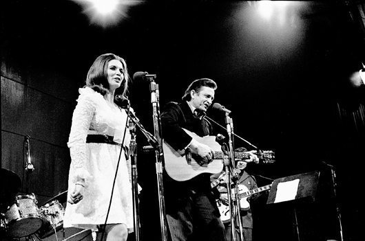 Johnny Cash and June - San Quentin Prison - 530