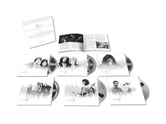 Queen On Air 6CD 3D Product Shot
