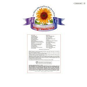 Sunflower back cover Beach Boys