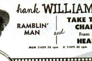 Hank Williams Tapes His Last Country No. 1