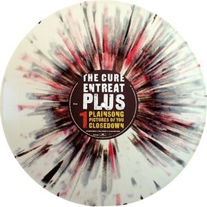 The Cure Entreat Plus white splatter vinyl edition - 300