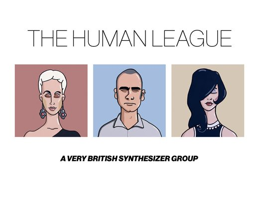 The Human League A Very British Synthesizer Group Album Cover - 530
