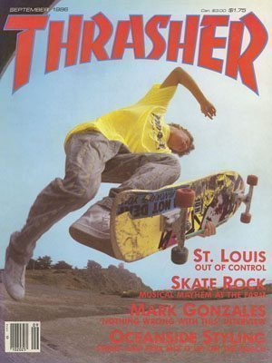 Thrasher Magazine - 1986 - 300