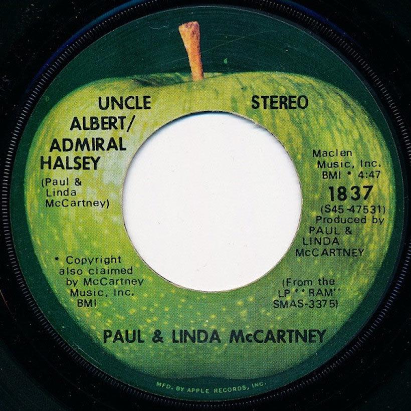 Paul McCartney Solo Uncle Albert/Admiral Halsey