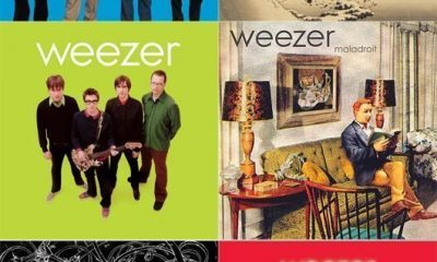 Weezer Album Covers Montage