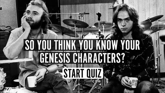 So You Think You Know Your Genesis Characters Uquiz