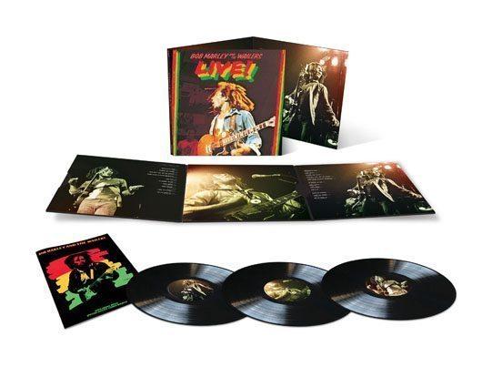Bob Marley Live 3LP Packshot - 530