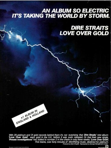 Dire Straits Storm The States