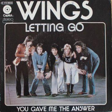 Wings Felt Like Letting Go
