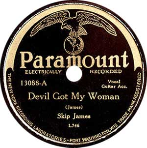 Skip James Devil Got My Woman Cover