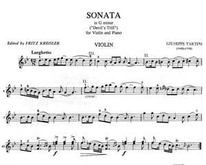 Tartini Sonata In G Minor