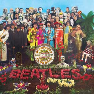 Sgt Pepper Artwork