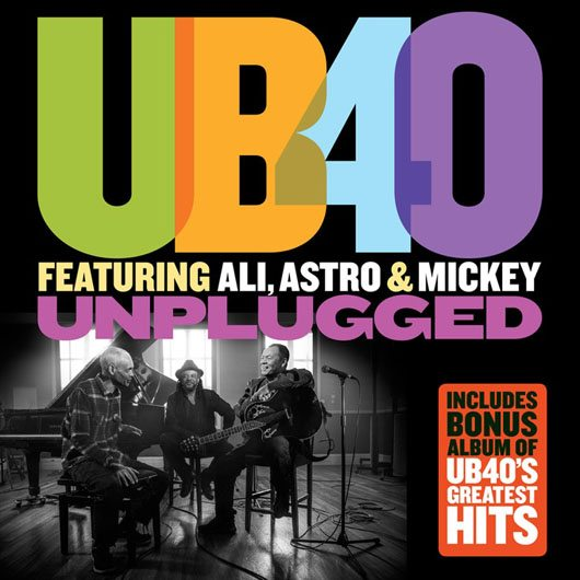 UB40 Unplugged Album Cover - 530