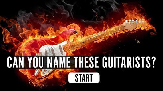 Can You Name These Guitarists Quiz