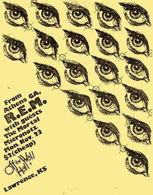1982-11-23 Tour Poster - 300