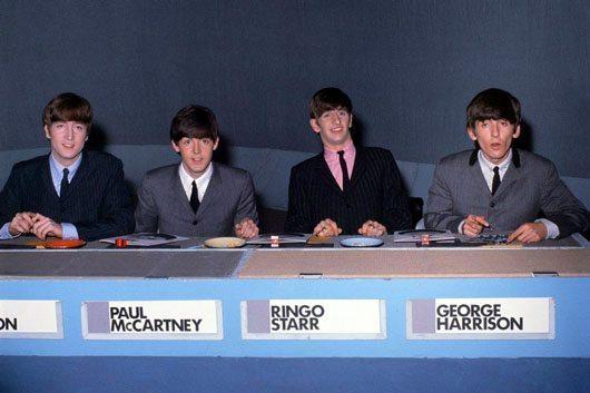 Beatles on Jukebox Jury group shot - 530