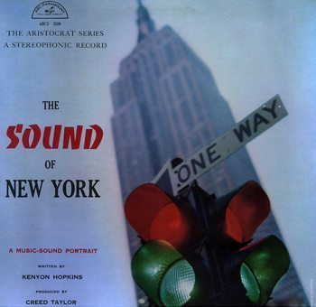 CTI(Creed Taylor,The Sound of NY,LP,front)