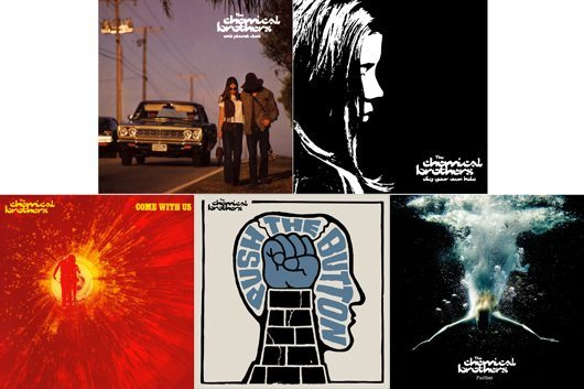 Chemical Bros vinyl reissues - five covers - 530