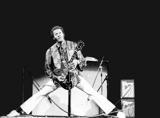 Chuck Berry Rock N Roll Image