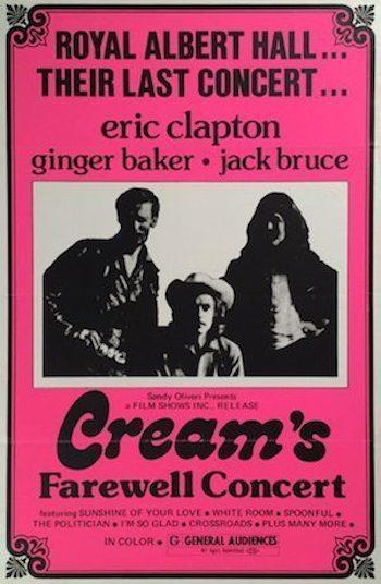 50 Years Ago: Cream Said Farewell At The Royal Albert Hall