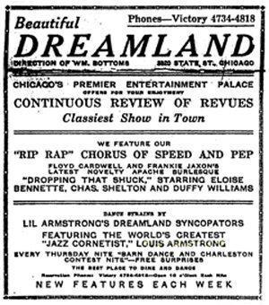Dreamland ad