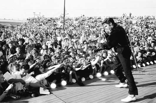 Elvis Rock N Roll Photo